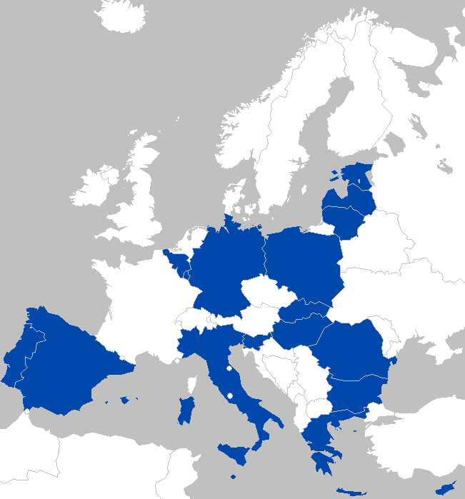 Alternative Map of Europe in 2022